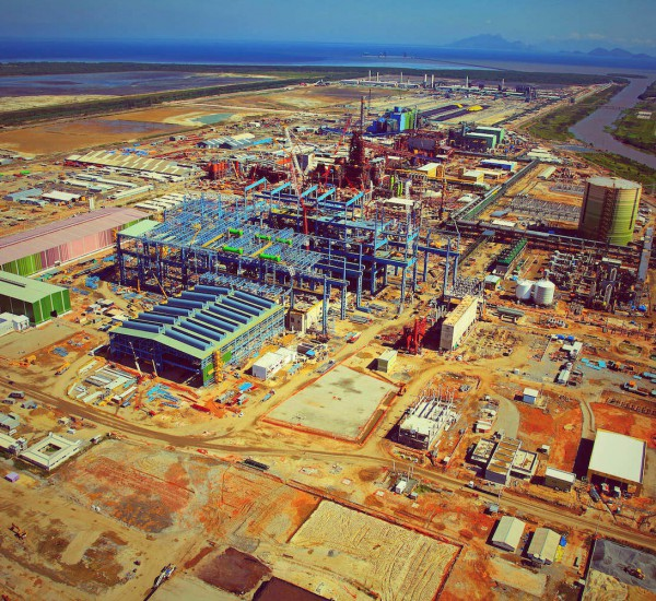 Steel mill in Brazil: Supply of expertise